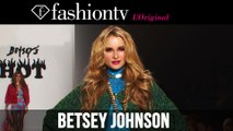 Betsey Johnson Fall/Winter 2014-15 | New York Fashion Week NYFW | FashionTV