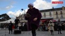Rennes. Une criée de mots d'amour pour la Saint-Valentin
