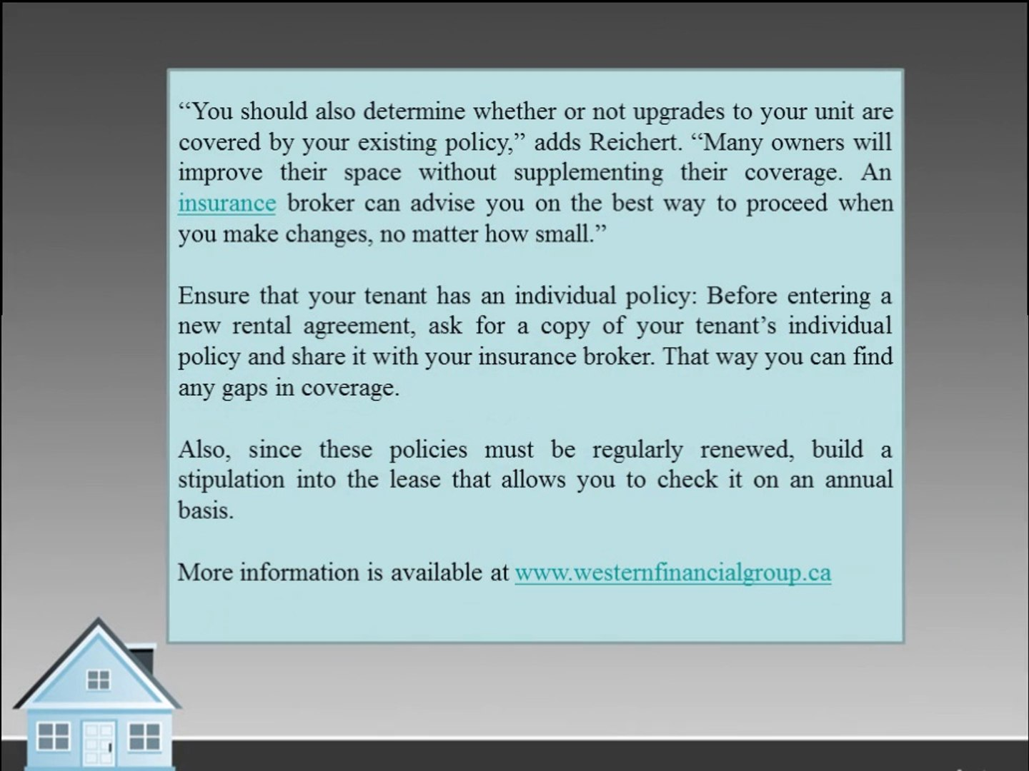Protect yourself with condo insurance tips, Dyman & Associates Insurance Group of Companies