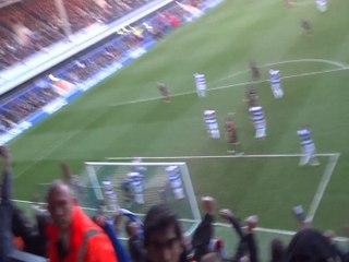 Alex Pearce's Goal. QPR vs Reading 16/02/14