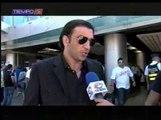 Kikín Fonseca a su llegada a Costa Rica