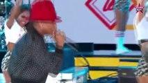 Pharrell fait le show au NBA All Star Game devant Tony Parker