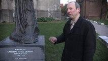 J-C Bourquin voit un alien dans une statue (Extrait Quarks Ep 11)