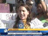 Médicos del Hospital Clínico Universitario protestan por falta de insumos y seguridad