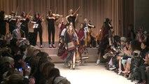 Fashion Week à Londres: défilé Burberry