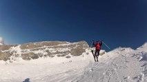 GoPro ski - La Clusaz 9-2-14