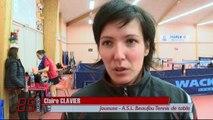 Interview de Claire Clavier de l'ASL Beaufou Tennis de Table