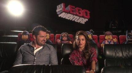 Lego, la grande aventure : Interview Tal et Arnaud Ducret