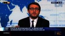 """L'Édito éco d'Emmanuel Duteil: Pacte de responsabilité: Le Medef veut """"un moratoire"""" sur certains projets de loi - 18/02"""