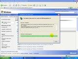 Installer Windows - Mise à jour personnalisée - Cours Formation Windows XP Français - 7.4