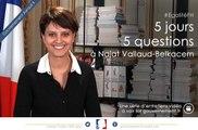 Quelles nouvelles mesures de lutte contre les violences instaure la loi? 5J5Q avec Najat Vallaud-Belkacem, ep3