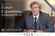 Quels sont les enjeux de la loi d'avenir pour l'agriculture, l'alimentation et la forêt? 5J5Q avec Stéphane Le Foll, ep3