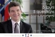 Comment s'organise le redressement productif au quotidien? 5J5Q avec Arnaud Montebourg, ep2