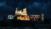 BEZIERS - 2014 - Spectacle son et lumière sur la Cathédrale Saint-Nazaire
