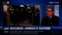 BFM Story: Hommage de François Hollande aux soldats musulmans morts pour la France - 18/02