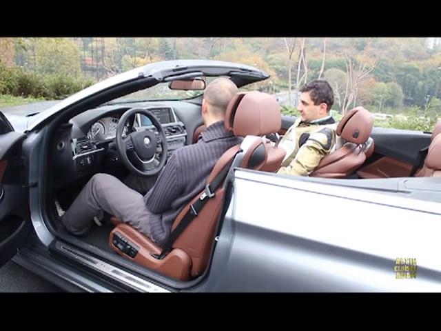 BMW S1000RR'YE KARŞI BMW 640i CABRIO