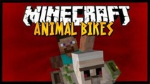 Minecraft Mod Spotlight - Animal Bikes - 1.7.4 - RIDEABLE ENDER DRAGON, SHEEP, BATS, CHICKENS + MORE
