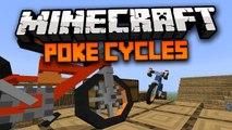 Minecraft Mod: POKECYCLE MOD - BICYCLES IN MINECRAFT! POKEMON BIKES (ACROBIKE + MACH BIKE) 1.7.4