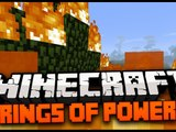Minecraft Mod Spotlight: RINGS OF POWER MOD 1.7.4 - FLYING RING, TELEPORT RING, FIRE RING ICE RING!