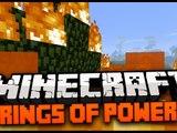 Minecraft Mod Spotlight: RINGS OF POWER MOD 1.7.4 - FLYING RING, TELEPORT RING, FIRE RING ICE RING!