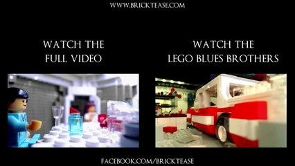 Lego Alien - Side by side comparison