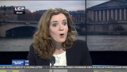 NKM attaque la journaliste du Monde qui couvre sa campagne à Paris