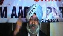 Aam Aadmi Party Candidate s Dirty language   H.S. phoolka Advocate   Sukhbir Badal Ji Deputy cm   Punjab