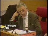 Vœu UMP sur les élus dans les logements sociaux - Gabriel Massou