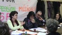 Sages-femmes hospitalières : conférence de presse du 13 février 2014