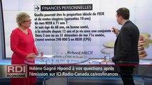 RDI Economie - Entrevue Hélène Gagné