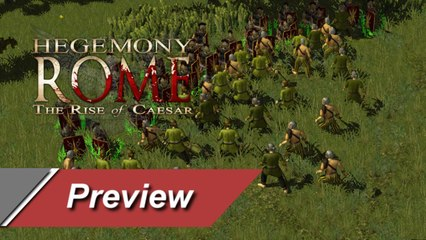 Hegemony Rome: The Rise of Caesar - Preview/Gameplay - Games-Panorama HD DE