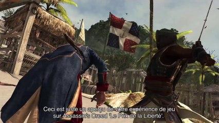 Gameplay Walkthrough Trailer de Assassin's Creed  Le Prix de la Liberté