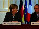Merkel accepte l'invitation de Hollande pour l'anniversaire du débarquement - 19/02