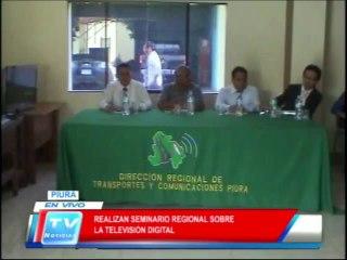 Piura: Realizan seminario regional de tv digital 18 02 14