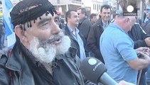 Los agricultores griegos claman en Atenas contra la subida de sus impuestos