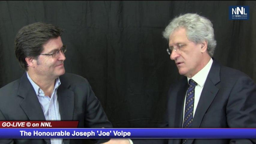 Hon Joe Volpe - Corriere Canadese Italia
