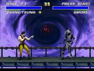 TAS Ultimate Mortal Kombat 3 SNES