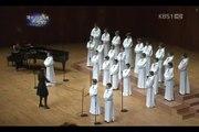 Petits Chanteurs à la Croix de Bois - MUSIQUE UNIVERSELLE -  COREE 2012