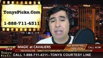 Cleveland Cavaliers vs. Orlando Magic Pick Prediction NBA Pro Basketball Odds Preview 2-19-2014
