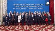 """Merkel y Putin harán """"todo lo posible"""" para frenar la violencia en Ucrania"""
