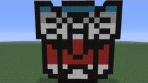 Minecraft Pixel Art: Autobot Insignia
