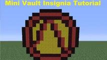 Minecraft Pixel Art: Borderlands Vault Insignia (Smaller Version) Tutorial