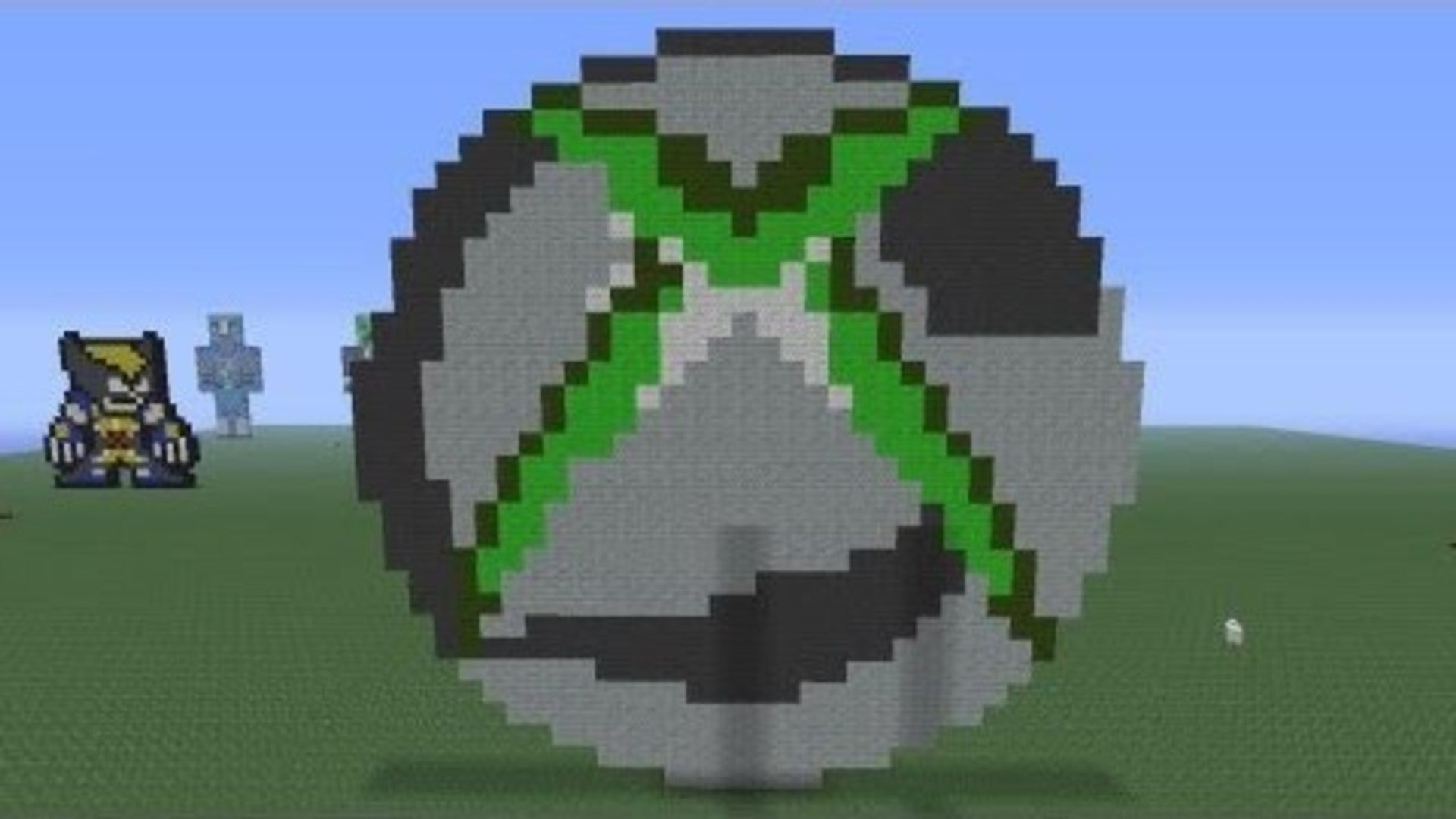 Minecraft Pixel Art Xbox360 Logo Tutorial