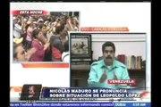 Venezuela: Nicolás Maduro se pronunció sobre situación de Leopoldo López