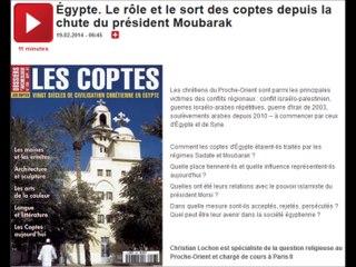 Le rôle et le sort des coptes depuis la chute du président Moubarak [France Culture, 19.02.2014]