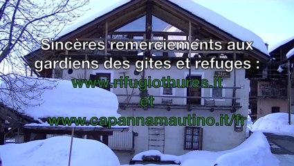 HAUTE ROUTE DES ESCARTONS. De Cervières à Briançon. Février 2014