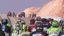 Summary - Stage 2 - Tour of Oman 2014 (Al Bustan > Quriyat)
