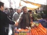 Saadet Partisi Gaziosmanpaşa Belediye Başkan adayı Bilal Ay Pazar Ziyareti...