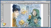 Tutoriel sur la création de BD : Vectoriser dans Illustrator   video2brain.com