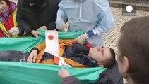 Las cámaras de euronews, testigos de la tragedia de Maidán